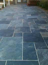 contemporary decoration slate patios looking slate gravel