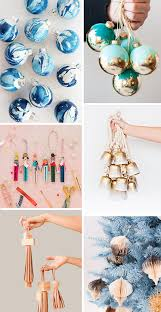 cool diy ornament ideas to get your tree through the holidays in style