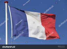 French Flag Pictures French Flag Blowing Wind Stock Photo 460818580 Shutterstock