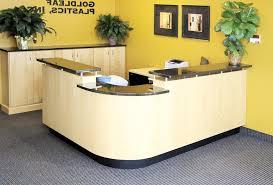Yellow Reception Desk Desk Ct 135 Modern Salon Front Office Reception Regarding