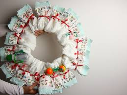 how to make a diaper wreath 11 steps with pictures wikihow