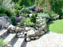 White Rock Garden Yard Ideas With Rocks Gorgeous Garden Landscaping Rocks Landscape