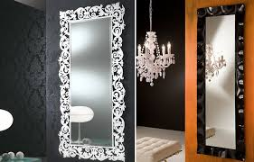 Decor Wall Mirrors Very Large Wall Mirrors Decorating Long And - Mirror design for bedroom