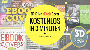 how to create ebook 3d covers free in 3 minutes youtube