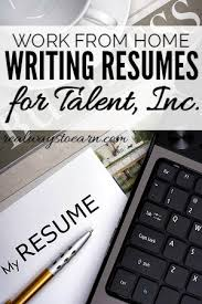 Write Resume Take Your Resume Writing Talent To Talent Inc