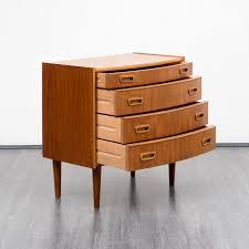 small dresser in scandinavian style teak