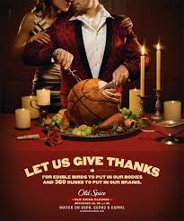 spice thanksgiving advertisments vintage