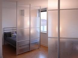 Sliding Panels Room Divider by Glass Wall Room Divider Ideas For Studio Home Room Within A