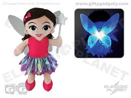 dolls that light up light up glow fairy doll giftygadgety com