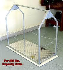 250 lbs capacity attic lift diamond plate platform cover