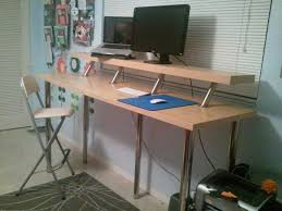 Ikea Standing Desks by Best Ikea Standing Desk Hack Thediapercake Home Trend