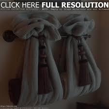 bathroom towel rack display towel