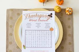 thanksgiving word search she liz