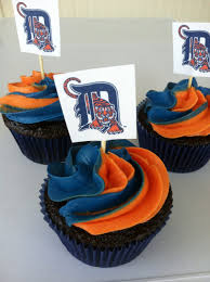 detroit tiger cupcakes not just cakes pinterest tiger