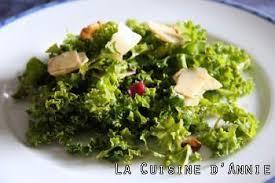 comment cuisiner le chou kale recette salade au chou frisé chou kale la cuisine familiale un