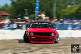 nissan 240sx rocket bunny rocket bunny boss kit owned by fish doing work at final bout 240sx