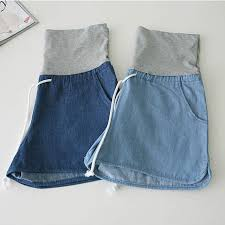 maternity shorts aliexpress buy summer denim maternity shorts for