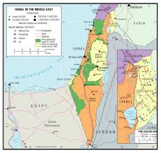 political map of israel the map of israel is complicated or is it regional geogblog