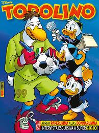 ac milan u0027s gianluigi donnarumma donald duck makeover comic