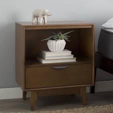 Nightstand With Shelf Industrial Nightstands You U0027ll Love Wayfair
