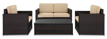 Crosley Palm Harbor Patio Furniture Patio Loveseat And Coffee Table Patio Decoration