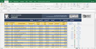 Microsoft Excel Business Templates Invoice Tracker Free Excel Template For Small Business