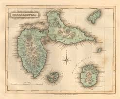Old Map Large Detailed Old Map Of Guadeloupe Guadeloupe Large Detailed