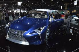 lexus lf lc features lexus lf lc and lf cc on display at the la auto show which one do