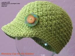 Free Crochet Patterns For Home Decor Crazy Easy Newsboy Cap For The Kiddies Crochet Pattern Cozy Cotton