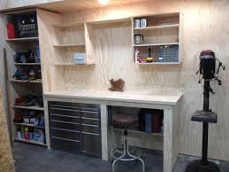Work Bench Design Bench Amazing Workbenches In Garage Work Benches Attractive