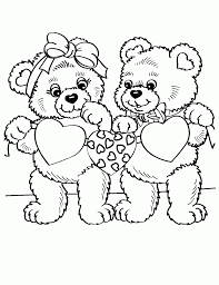 happy valentines day say the cute robot coloring page kids play