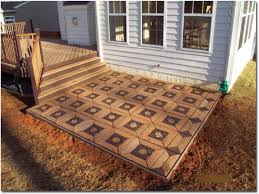patio stone design concrete patio ideas and designs poured