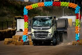 volvo heavy duty trucks volvo lets a four year old remote control an 18 ton fmx truck w