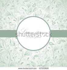 Flower Design For Scrapbook Vector Flower Pattern Botanical Texture Wedding Stock Vector