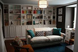 Bookcase Lowes Built Ins Using Stock Lowes Cabinets Living Rooms Pinterest