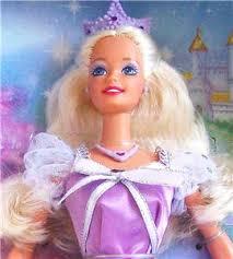 princess blonde barbie doll 18404