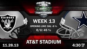 Dallas Cowboy Thanksgiving Game Nfl Thanksgiving Preview Oakland Raiders Vs Dallas Cowboys Nfl