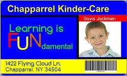 keep your kids safe with child id cards id card templates