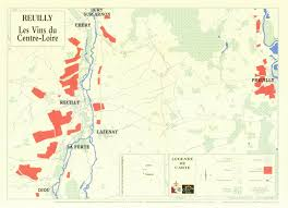 Loire Valley France Map by Domaine De Reuilly Our Wines Kermit Lynch Wine Merchant