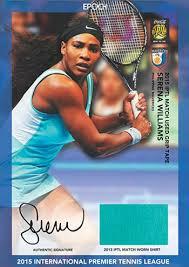 2015 epoch iptl tennis cards details and checklist
