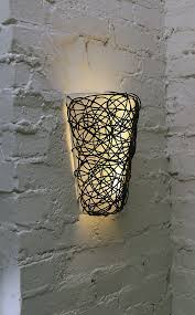 Wall Sconce Uplight Battery Powered Led Wall Sconce Led Wall Sconce Uplight With Ikea