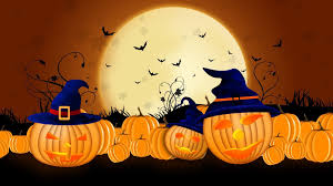 halloween colored background wallpaper pumpkins wallpapers for desktop group 67