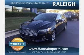 ford fusion used for sale used ford fusion hybrid for sale in raleigh nc edmunds