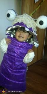 Sulley Toddler Halloween Costume Monsters Family Halloween Costume Mike Sully Boo Monsters