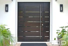 Exterior Doors Steel Modern Front Door Exterior Doors Steel Throughout Contemporary