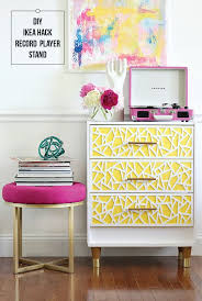 Overlays Ikea by Diy Du Jour 5 Record Player Upgrades And Stand Ideas Francois