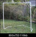 diy lacrosse goal stars and stripes lacrosse mesh 35 there s no need to explain