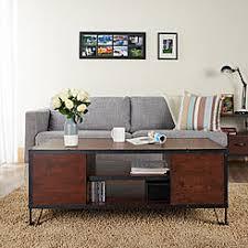 furniture of america crete vintage walnut coffee table furniture of america coffee end tables kmart