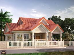elevated bungalow with attic home design modern houses small