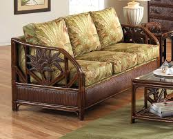 Mission Sleeper Sofa Wicker Sofa Bed Rattan Furniture Selv Me With Regard To Sleeper